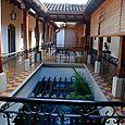 Colonial hotel in Granada