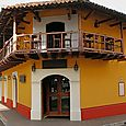 Colonial hotel in Granada, Nicaragua