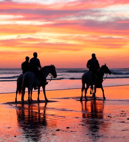 Sunset Horse Riding near San Juan del Sur