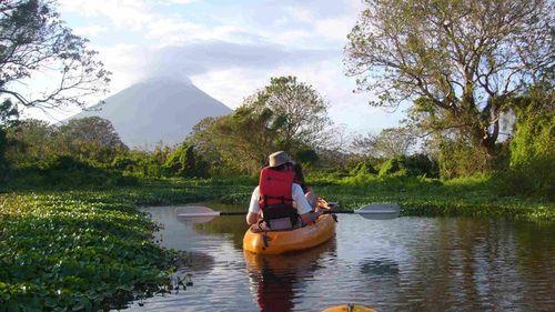 Kayaking on Ometepe