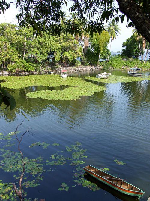 Las Isletas on Lake Nicaragua