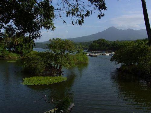 Las Isletas in Lake Nicaragua