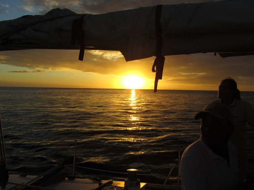 Sunset tour on yacht