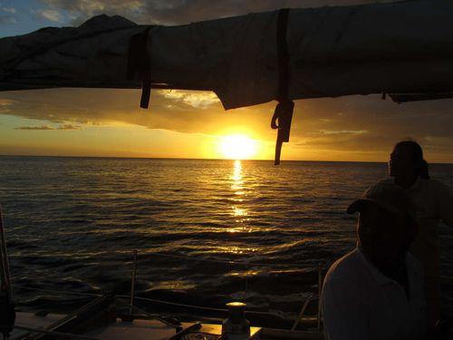 Sunset tour on yacht
