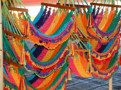Hammocks at Masaya Artisans Market