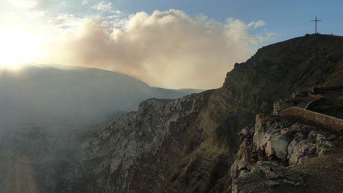 Volcan Masaya in Nicaragua