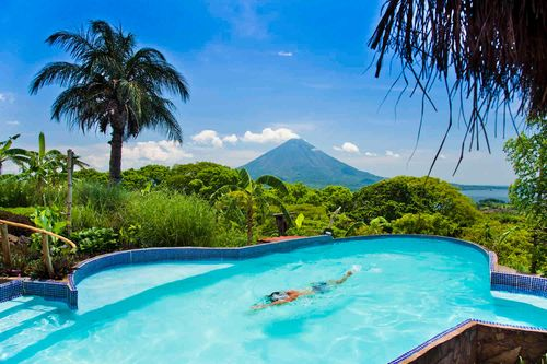 Hotel on Lake Nicaragua