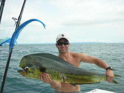 Fine Dorado catch
