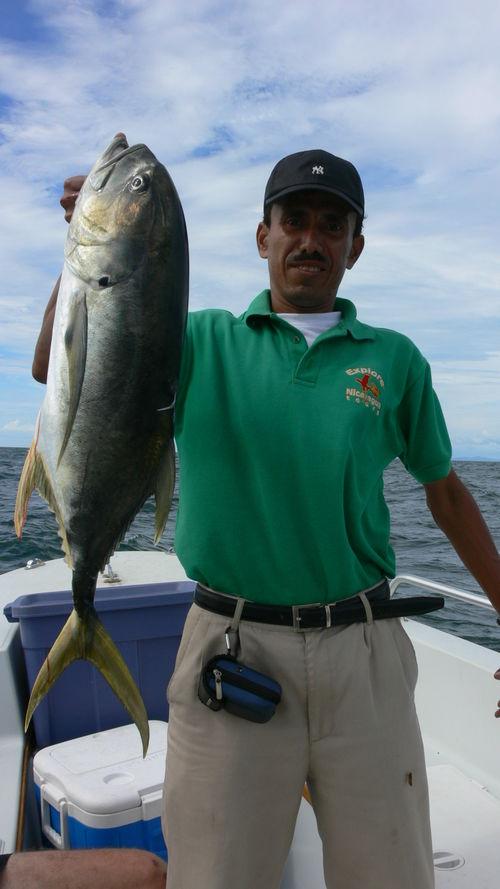 Fishing off San Juan del Sur.