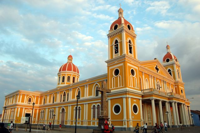 Cathedral in Granada, Nicaragua