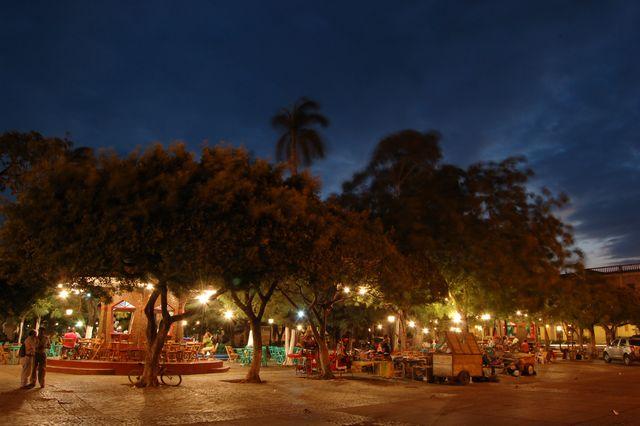 Parque Central in Granada