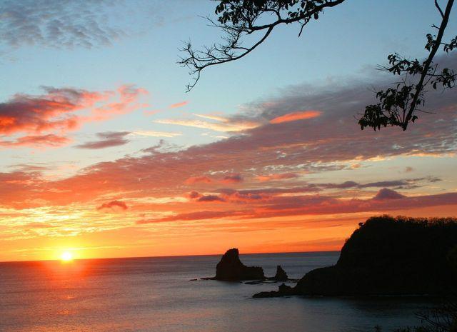 Pacific Coast Beach in Nicaragua