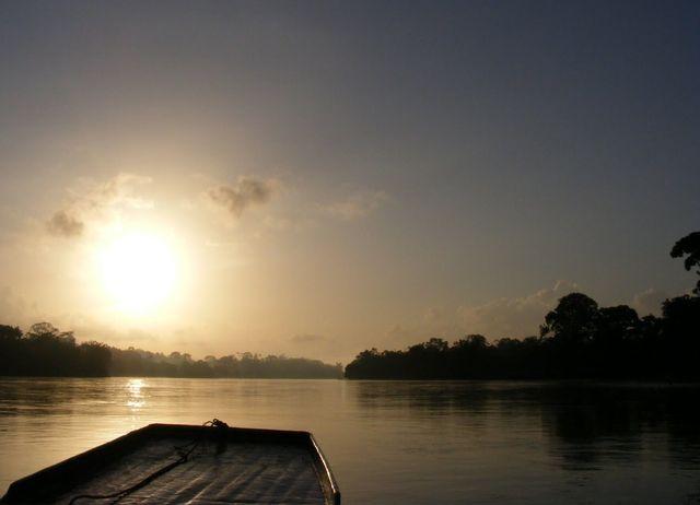 Rio San Juan en Nicaragua